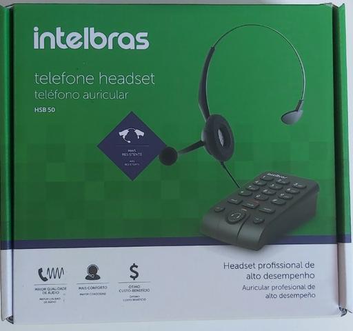 Telefone headset - HSB 50 - Intelbras