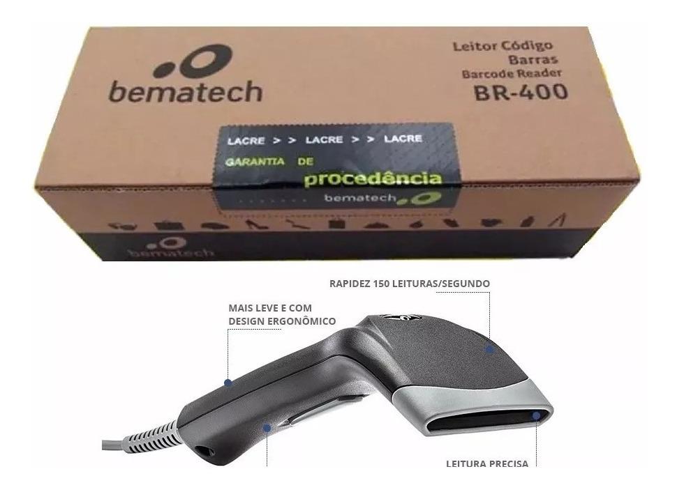 Leitor Código Barra Bematech BR-400