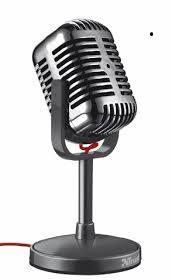 Microfone Gamer Trust Elvii Vintage - T21670