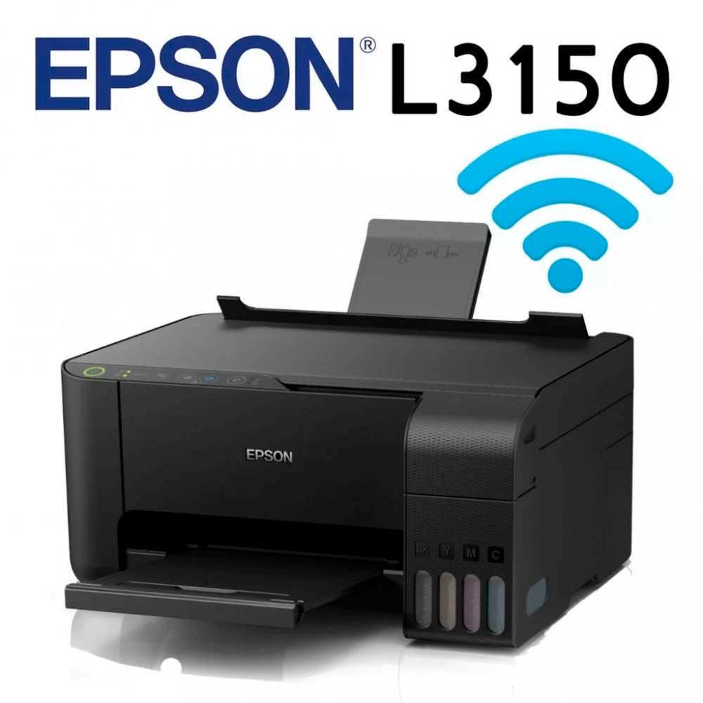 Multifuncional Epson Ecotank L3150 Com Wi-fi