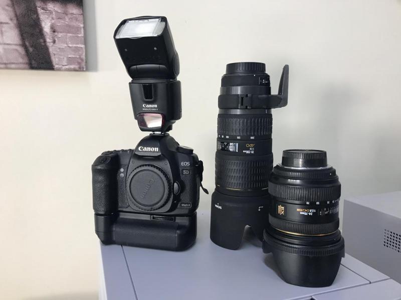 Vendo equipamento Canon Profissional