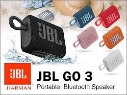 JBL GO 3 Caixa de som portátil à prova d'água