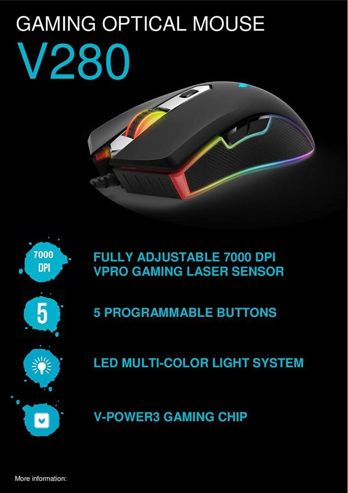 Mouse Rapoo Vpro V280 Gaming