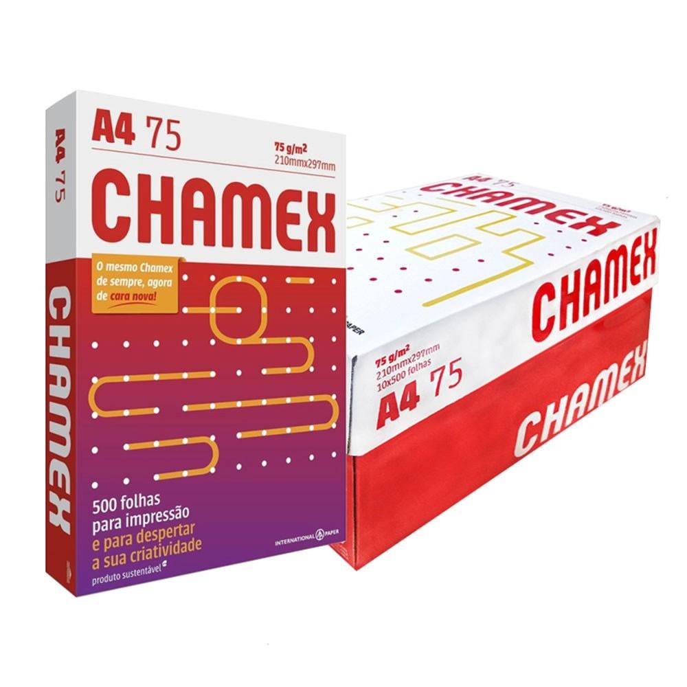 Papel Chamex A4 Sulfite 75g 500 Folhas