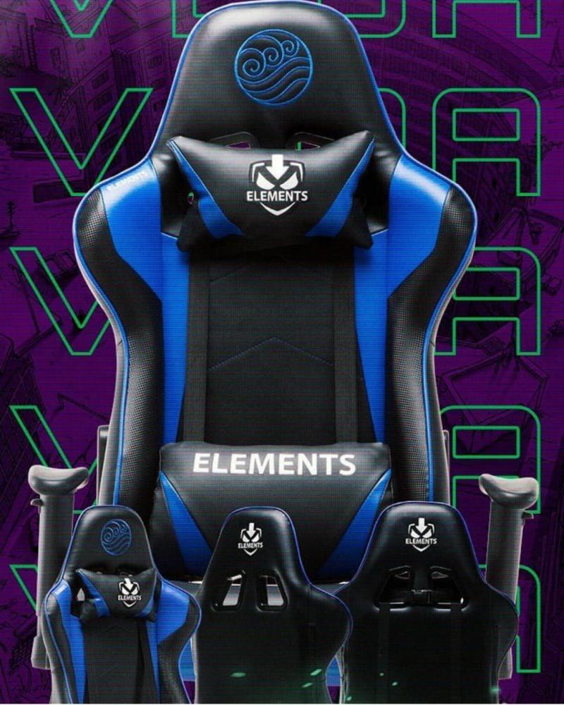 Cadeira Gamer Elementos Veda Acqua