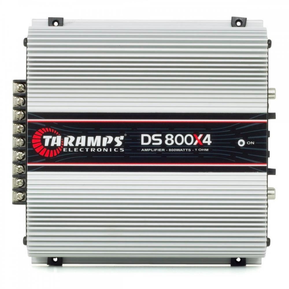 Módulo Amplificador Taramps DS800x4 800W RMS 2 Ohms 4 Canais