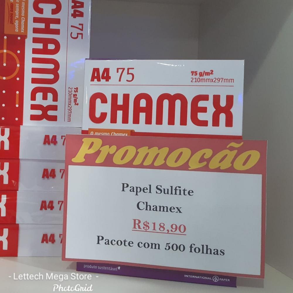 Papel Sulfite Chamex