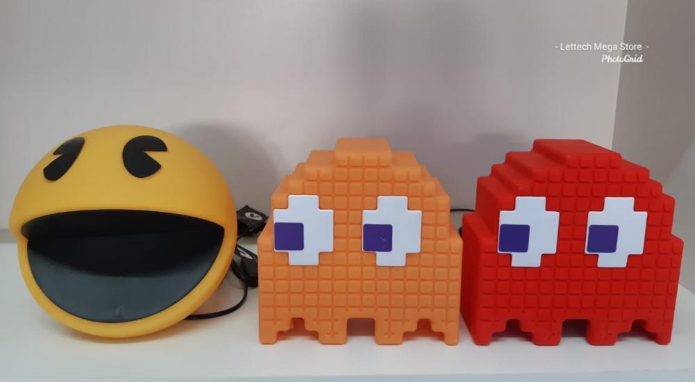 Abajur Pac-Man