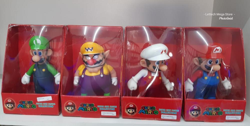 Bonecos Super Mario