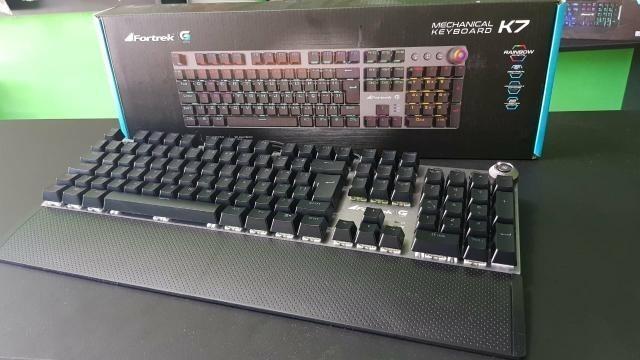 Teclado Gamer Mecânico