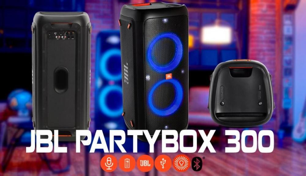 Caixa de Som Portátil Bluetooth JBL Party Box 300