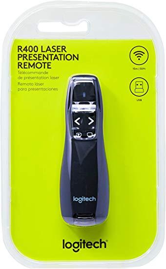 Apresentador sem fio Laser R400 Logitech