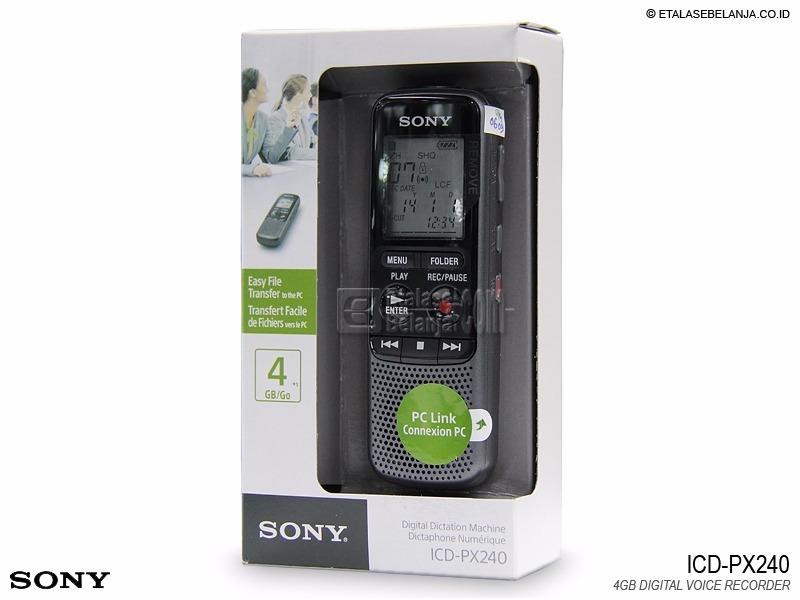 Gravador de voz digital PX240