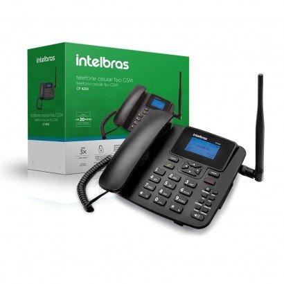 Telefone Intelbras - Celular Fixo GSM CF-4201