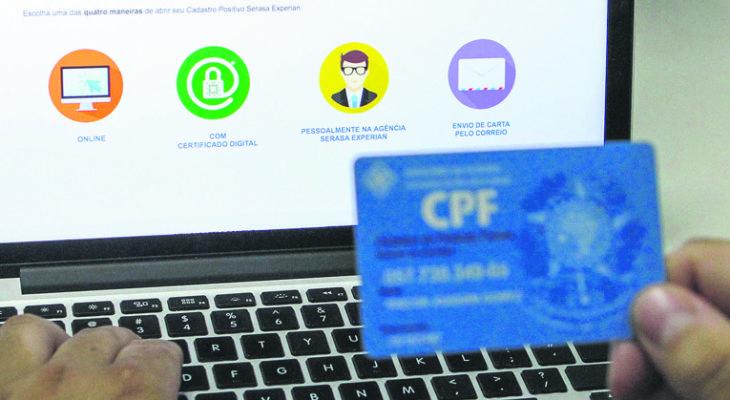 Uma lista que vai mostrar se cada pessoa é ou não uma boa pagadora de contas – Foto: Ag. Brasil
