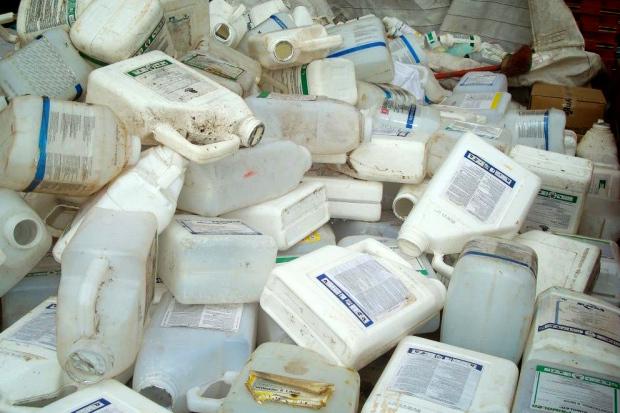 Foram recolhidos das propriedades rurais do Estado 5,6 mil toneladas de embalagens vazias - AEN