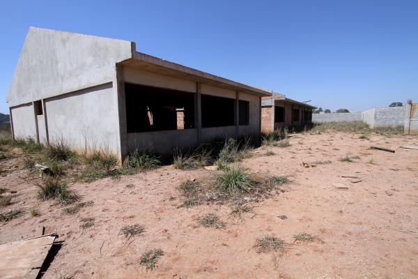 Obras do Colégio Estadual Jardim Paulista, em Campina Grande do Sul, investigada na Quadro Negro - Wagner Araújo/TCE