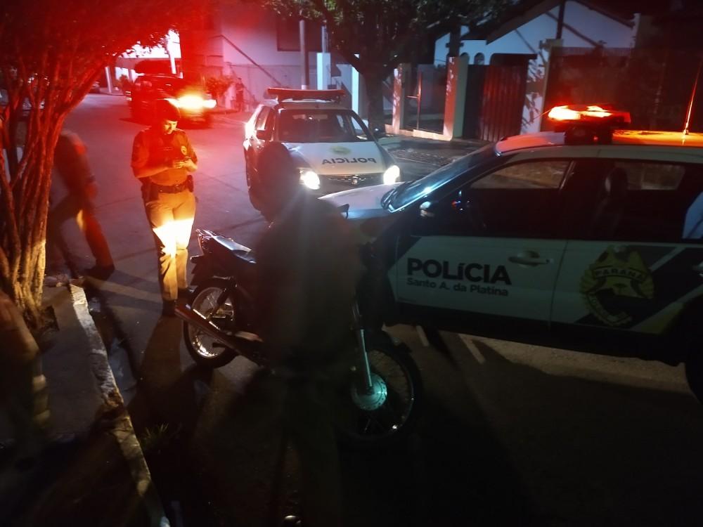 PM intensifica ações contra furtos e roubos em Santo Antônio da Platina