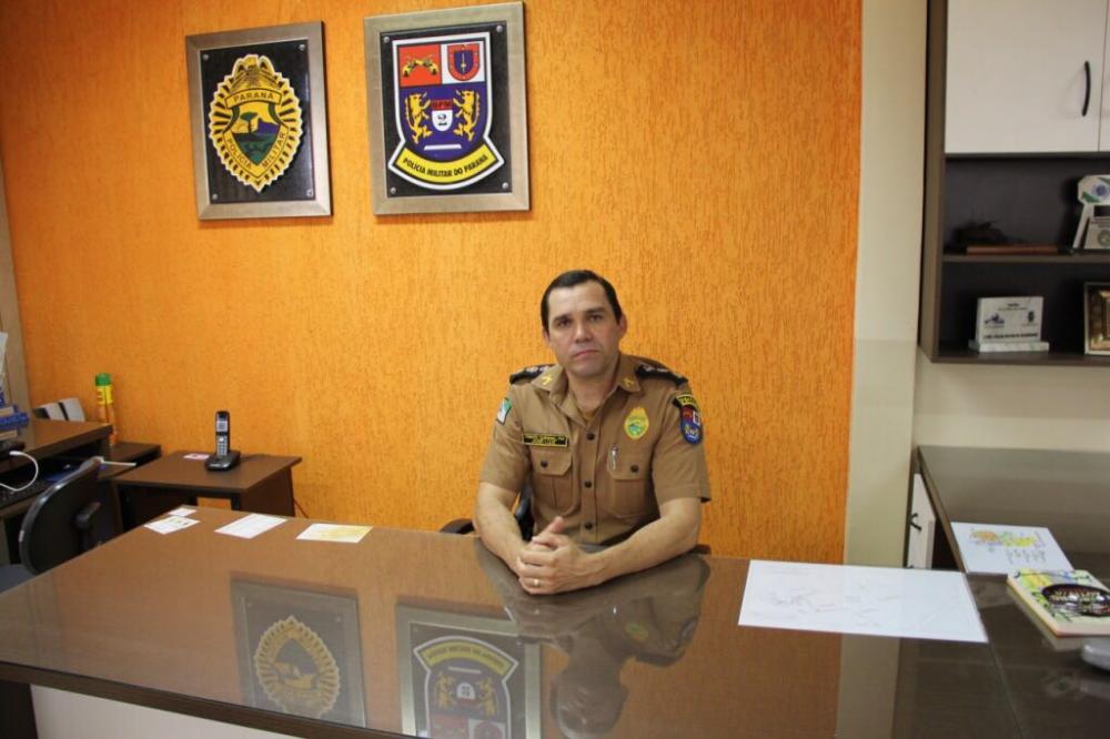 José Luiz de Oliveira foi promovido a coronel e deixará o comando do 2º BPM - Foto: Antônio de Picolli