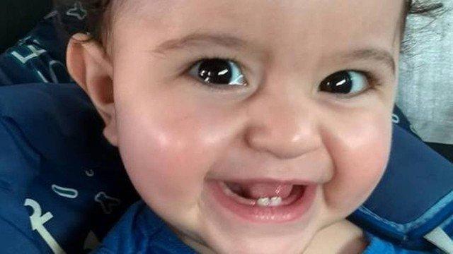 João, de 2 anos, foi morto pelo pai, em Patos de Minas Foto: Facebook / Reprodução