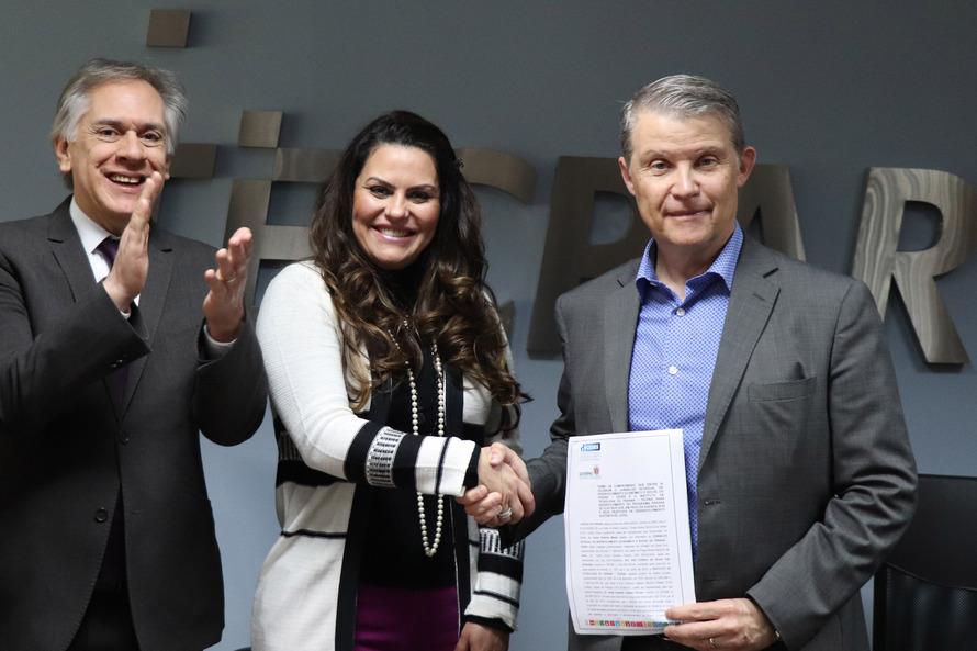 O documento foi assinado pelo diretor-presidente do instituto, Jorge Callado, e pela vice-presidente Cedes, Keli Guimarães - AEN