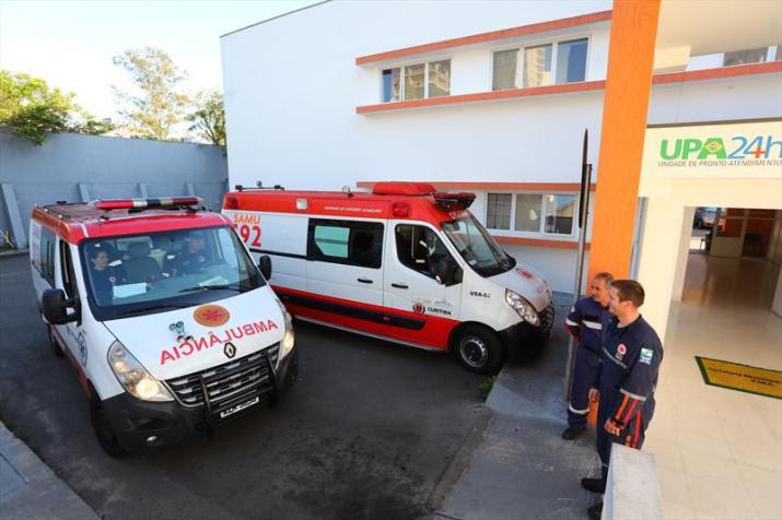 Serviço de Atendimento Móvel de Urgência completa 15 anos com 1.650 mil atendimentos de emergência diários em todo o Paraná - Daniel Castellano/SMCS
