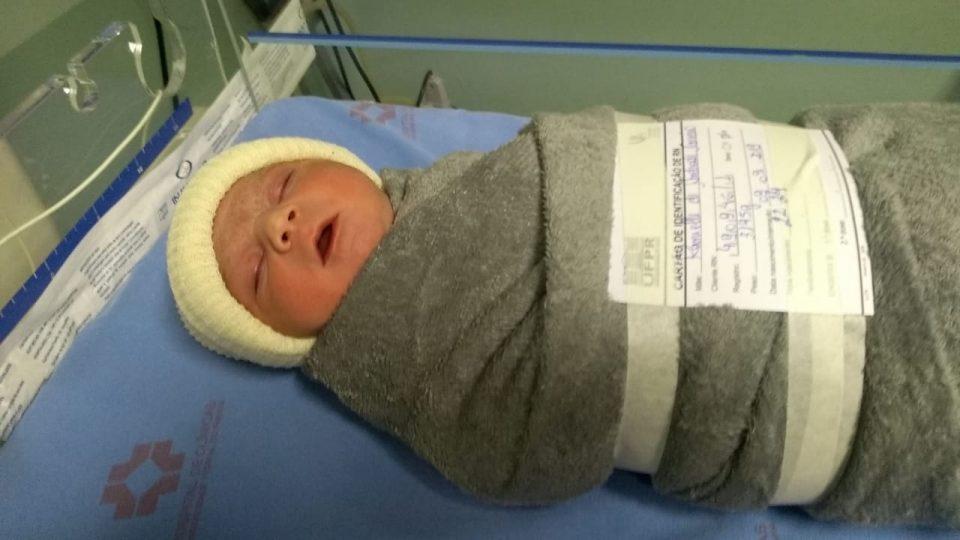 Pedro Henrique nasceu na noite do dia 9/9/2019 (foto: colaboração/Banda B)