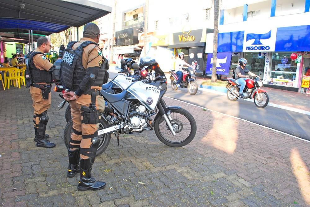 PM intensifica trabalhos da Rocam em Santo Antônio da Platina