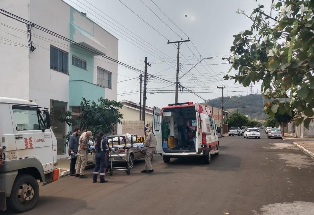 Joanir Fernando Ribeiro ficou gravemente ferido após cair da cobertura do prédio em que trabalhava - Foto: Luiz Guilherme Bannwart