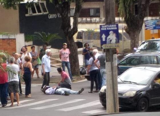 Na semana passada mais uma colisão grave envolvendo um carro e uma moto foi registrada no local - Arquivo