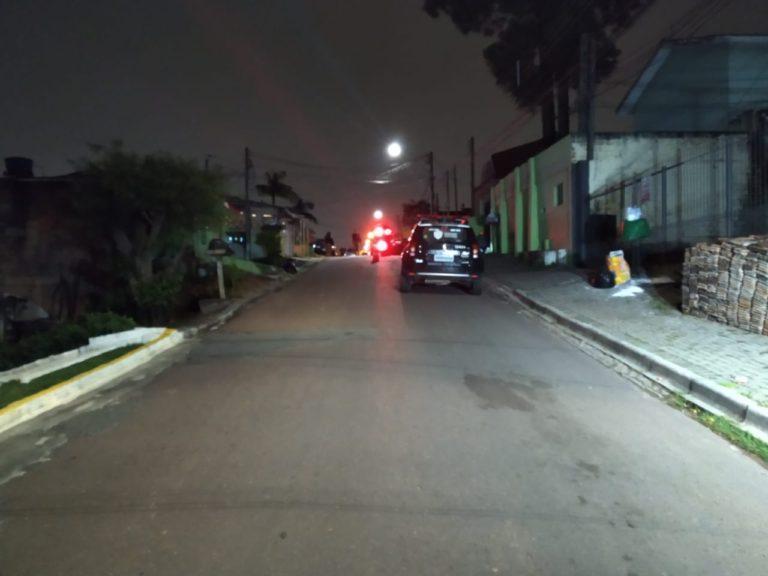 Ex-PM foi morto a tiros dentro de carro (Foto: Colaboração)