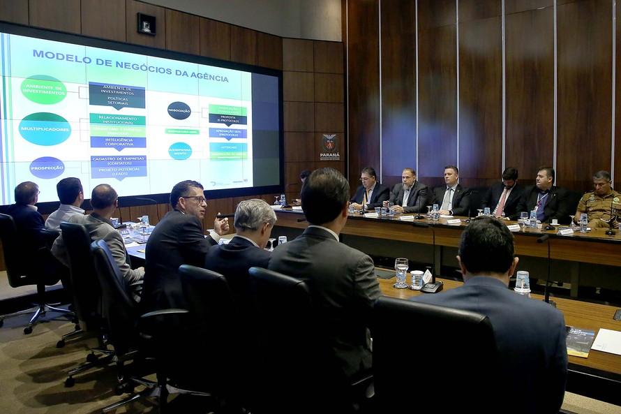 O balanço foi apresentado durante reunião semanal do governador Ratinho Junior com o secretariado -AEN