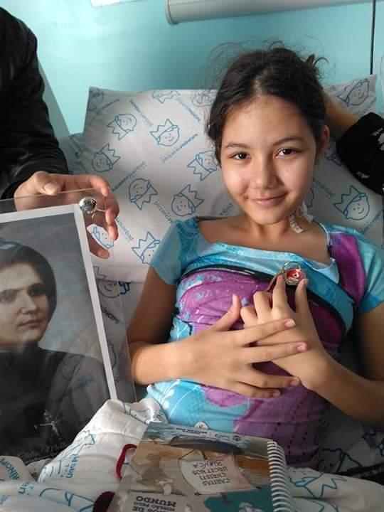Bianca Mendonça faleceu aos 12 anos na tarde desta segunda-feira (4), em Curitiba - Arquivo da família