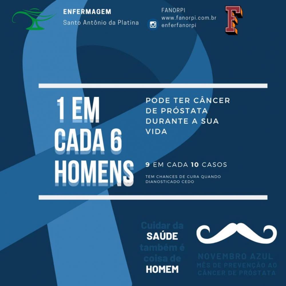 Alunos de Enfermagem promovem ações contra o câncer de próstata