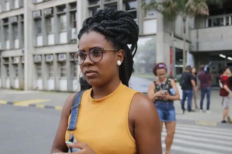 Rio de Janeiro - A estudante Camilla Santos da Silva, candidata ao curso de Enfermagem - Fernando Frazão/Agência Brasil
