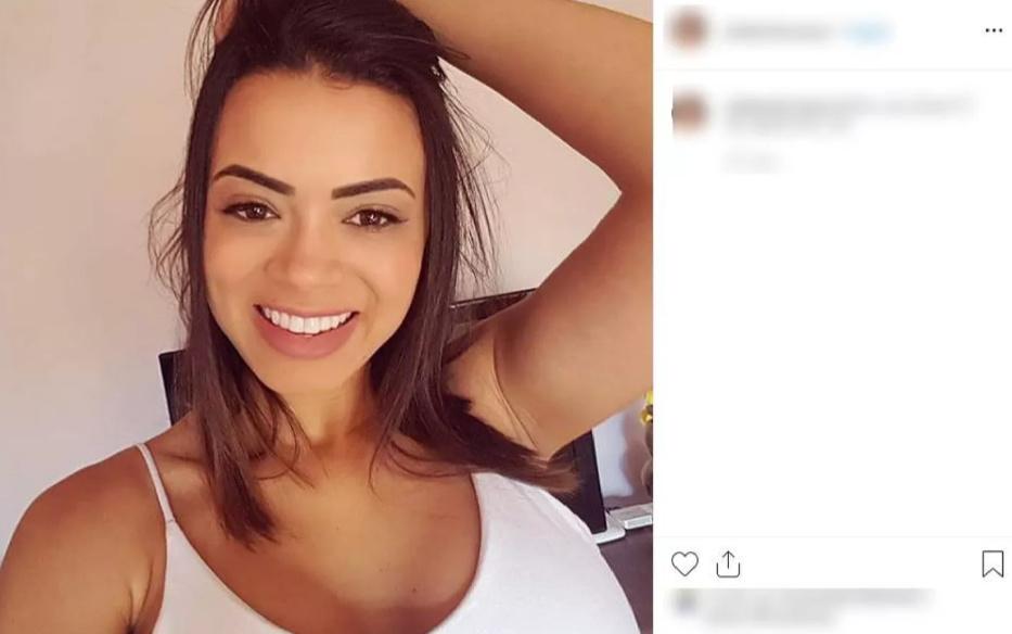 Julia Barbosa de Souza levou um tiro na cabeça
