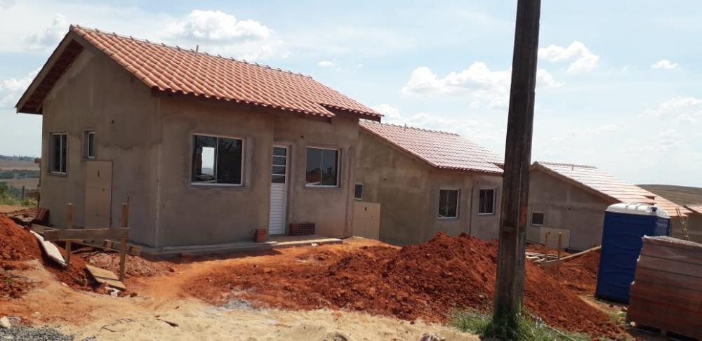 Obras de 50 casas populares estão na fase final - Divulgação