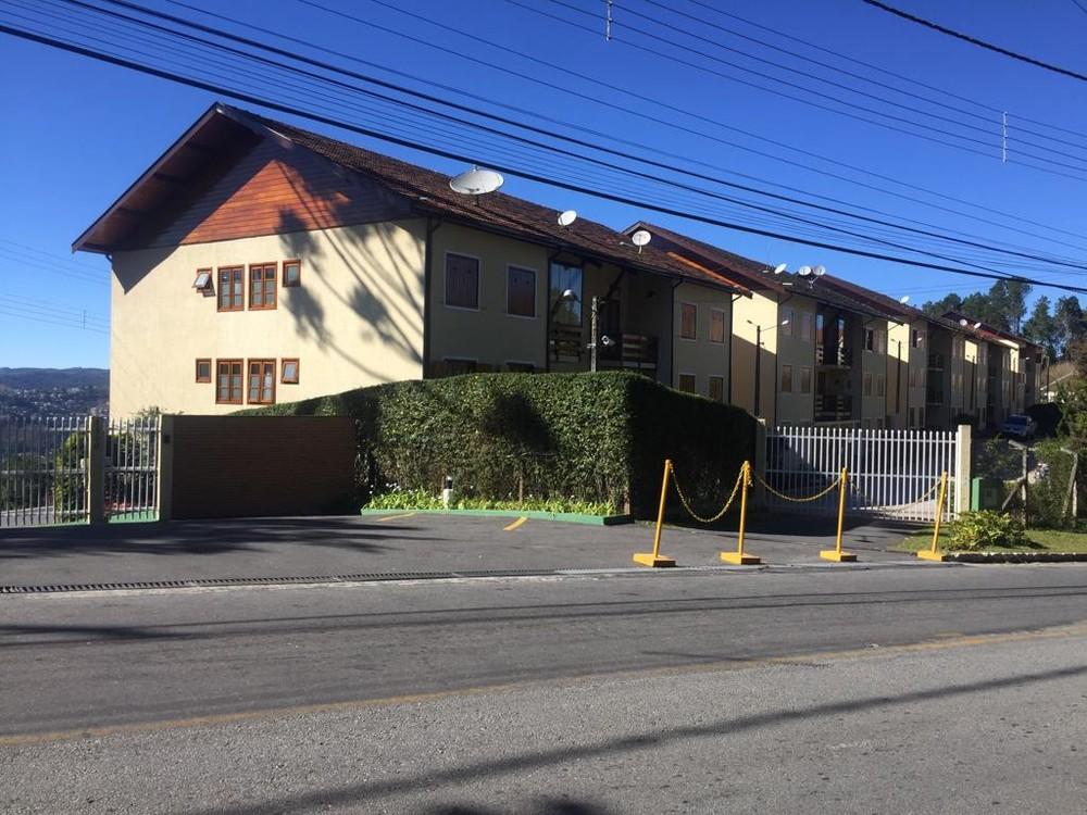 Local onde pai e filha foram achados mortos é um condomínio de apartamentos no Alto da Boa Vista — Foto: Vanessa Vantine/TV Vanguarda