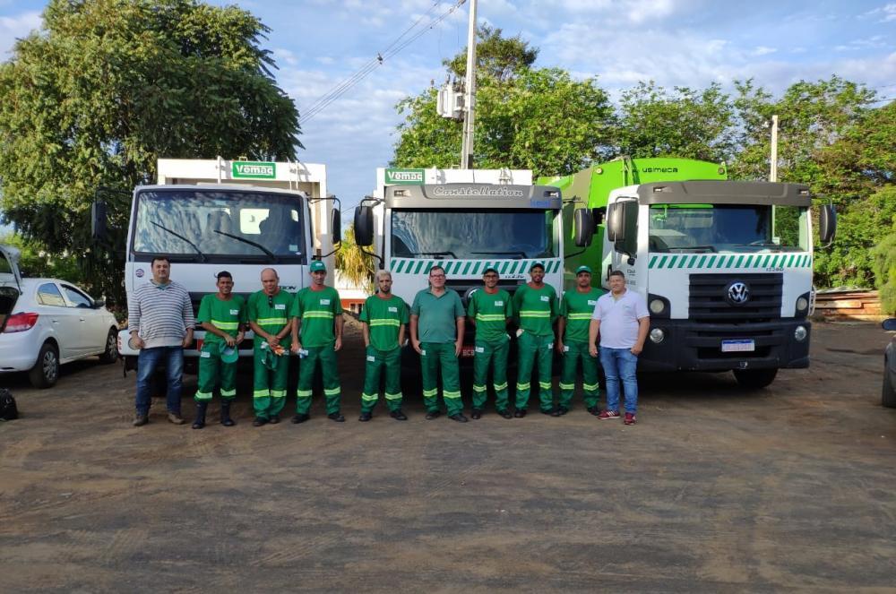 Limpatur começou a operar na quarta-feira em Santo Antônio da Platina