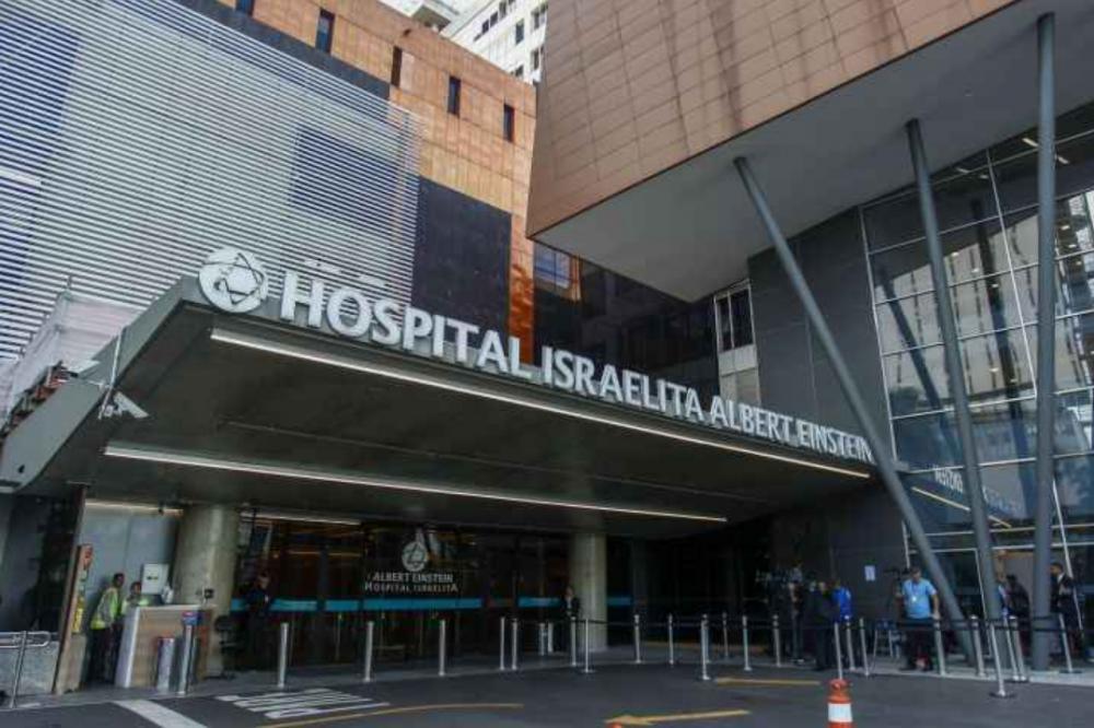 Hospital Albert Einstein recebeu paciente - Divulgação