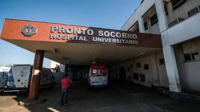 Paciente estava internado na UTI do Hospital Universitário de Londrina - Ricardo Chicarelli/Arquivo Folha