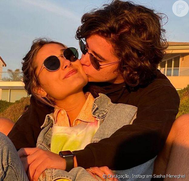Sasha e o namorado – Reprodução Instagram/Purepeople
