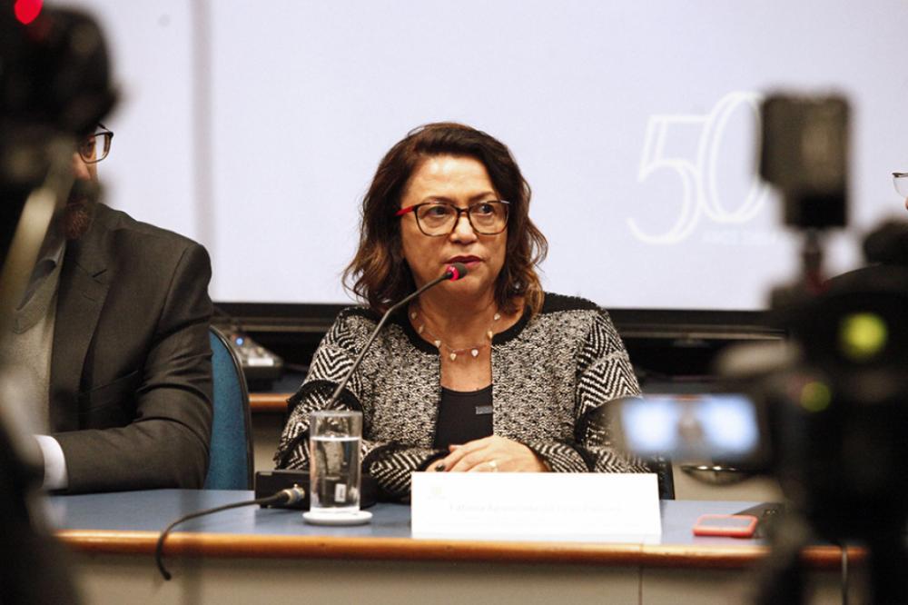 Reitora da UENP, professora Fátima da Cruz Padoan