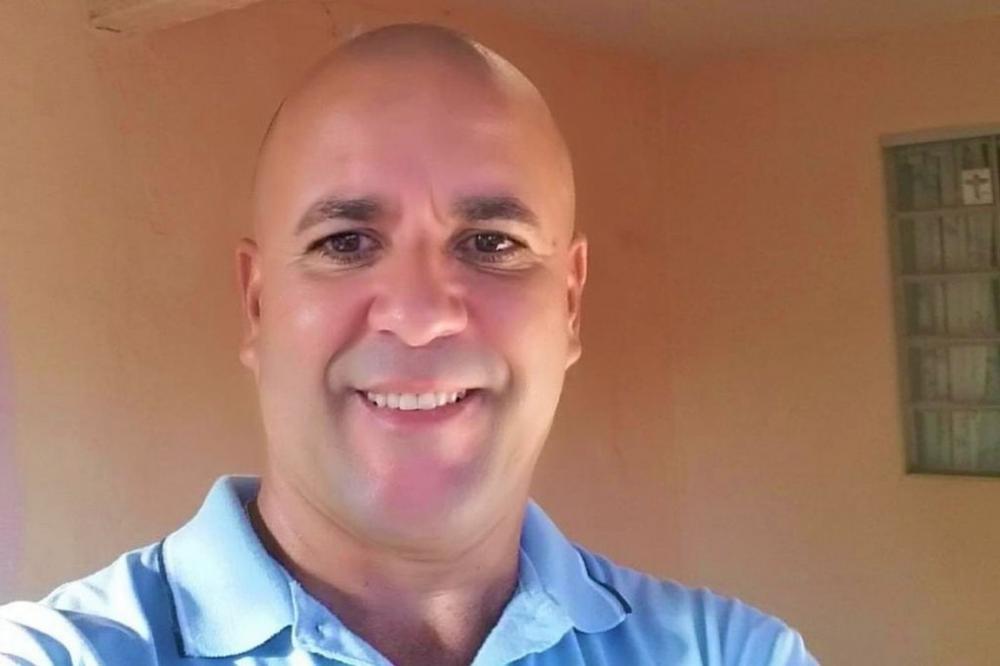 Luciano Teodoro de Almeida foi internado no dia 17 de abril após testar positivo para Covid-19 - Arquivo da família