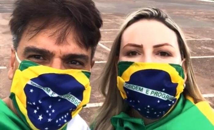 Assassino de Daniela Perez, Guilherme de Pádua vai à manifestação pró-Bolsonaro em Brasília