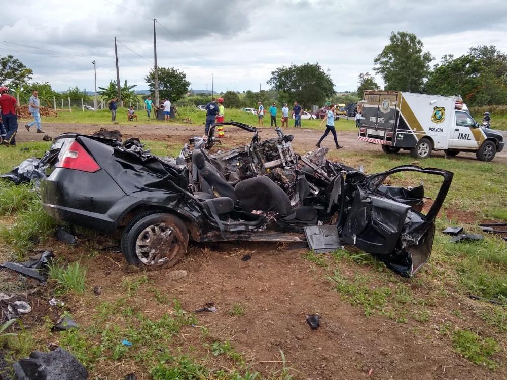 Polícia Civil conclui investigação sobre acidente que vitimou jovens e criança na BR-153