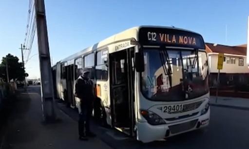 Motorista de ônibus é esfaqueado no rosto durante assalto