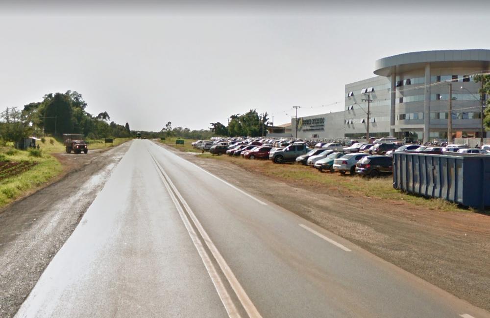 Trecho urbano da PR-092, em Siqueira Campos, será duplicado - Arquivo