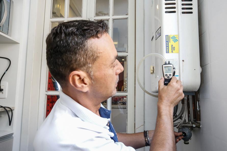 Compagas alerta sobre cuidados com os aquecedores