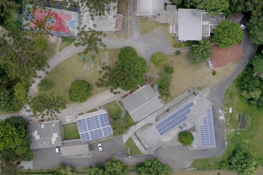 Copel implanta energia solar em ONG que acolhe crianças e adolescentes